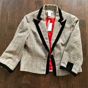 WDNY - Gray Blazer Coat for Women